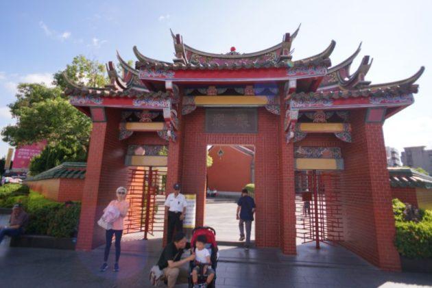 行天宮の入り口