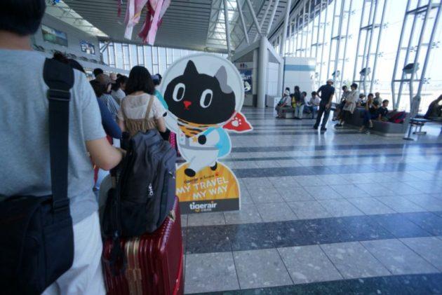 タイガーエア台湾のキャラクターは完全にネk・・・