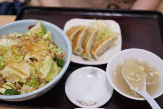 富士乃家のスタミナ丼セット