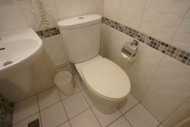 ザ メトロホテル (豪爵大飯店)のトイレ
