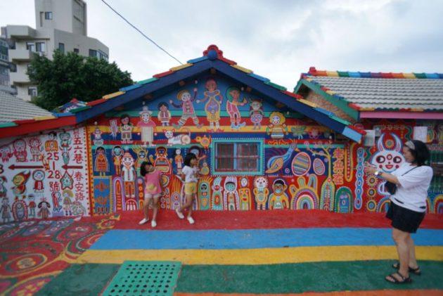彩虹眷村の人気写真スポット