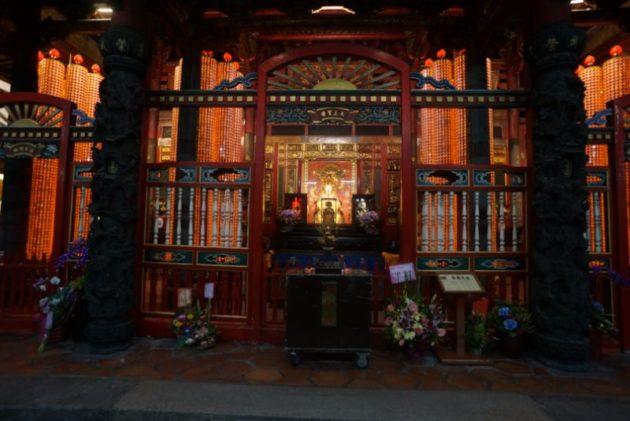 龍山寺の天上聖母