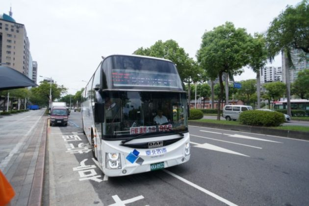 九份へ行くバス