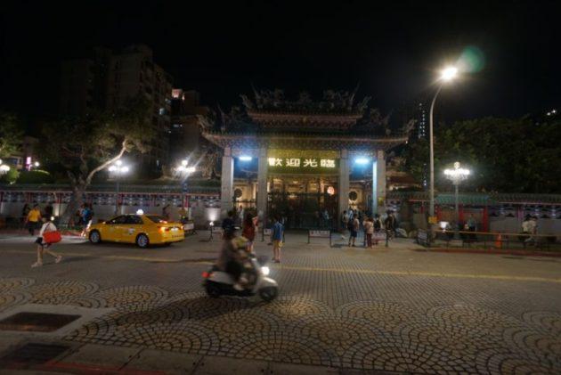 龍山寺の門
