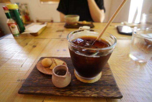 ギャラリーカフェ ふゆめ堂のアイスコーヒー