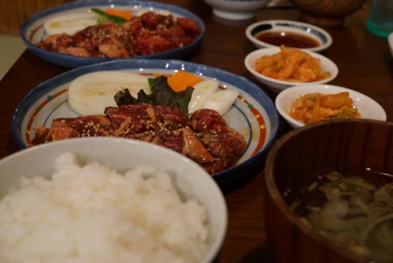 もつ焼屋 炙ジョッでランチに津軽の定番焼肉牛サガリを食す(弘前市)