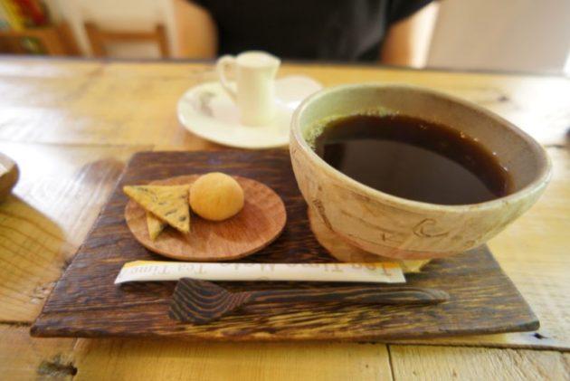 ギャラリーカフェ ふゆめ堂のホットコーヒー