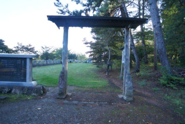 自覚院 白衣観音堂の門