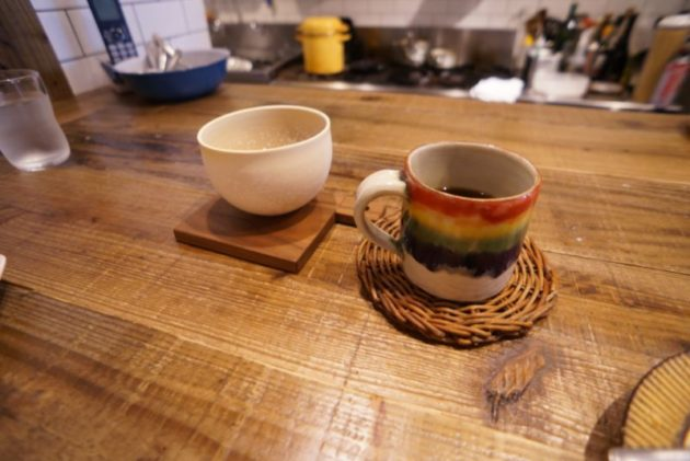 pommeris(ポムリ)の食後のコーヒー