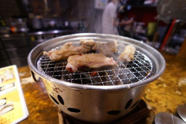 大衆鶏酒場 とりべえの手羽中良い焼き具合