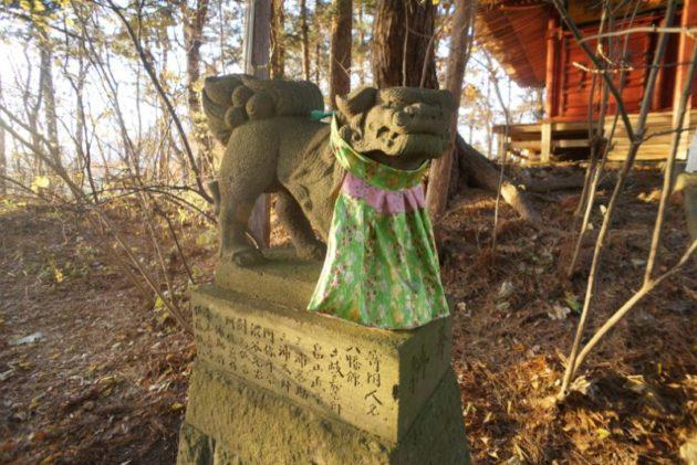 愛宕山橋雲寺狛犬
