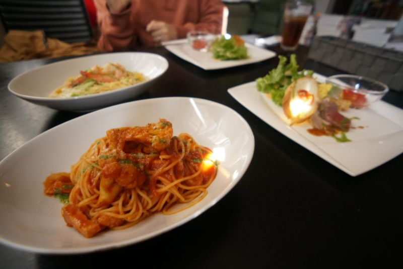 創作イタリアンピエタンザで新鮮野菜のパスタランチを堪能(弘前市)