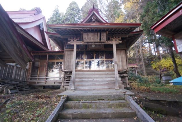愛宕山橋雲寺の護摩堂