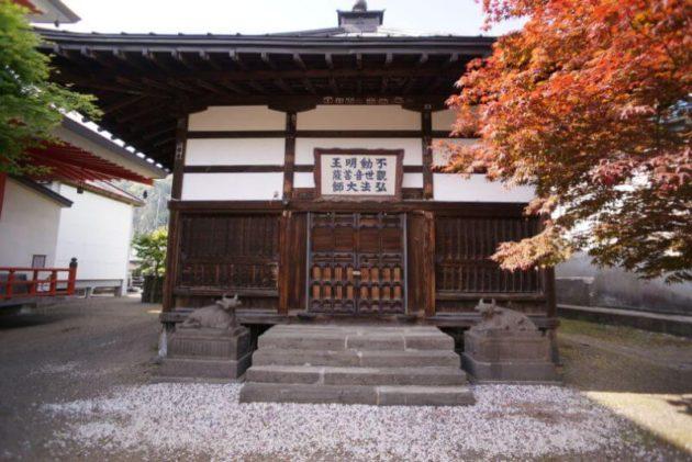 神岡山大円寺の旧大日堂