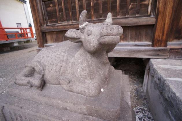 神岡山大円寺の牛さん