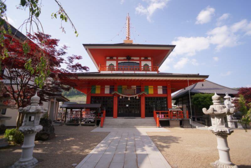 神岡山大円寺の大日堂