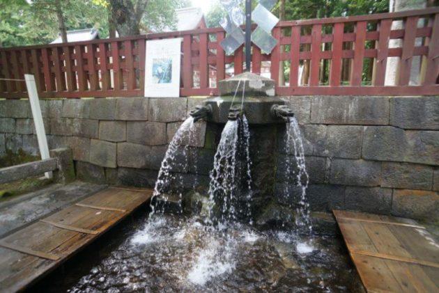 岩木山神社の手水舎