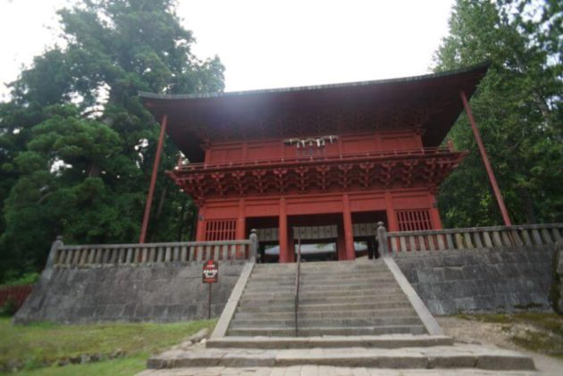 岩木山神社の楼門