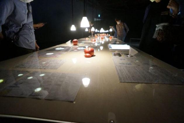 弘前れんが倉庫美術館のりんご宇宙展示8