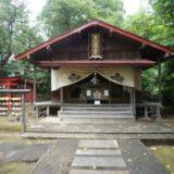 弘前天満宮の拝殿