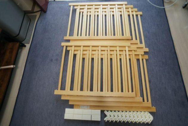 KATOJI木製ベビーサークルの部品
