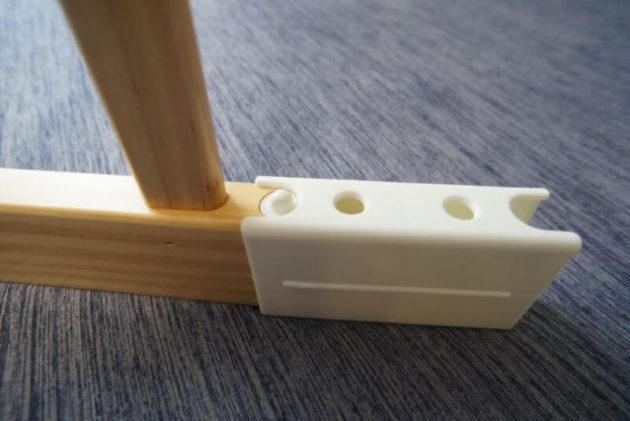 KATOJI木製ベビーサークルの取付方1