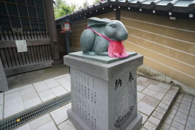 金剛山最勝院の一代様ウサギ2