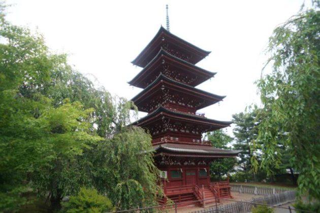 金剛山最勝院の五重塔