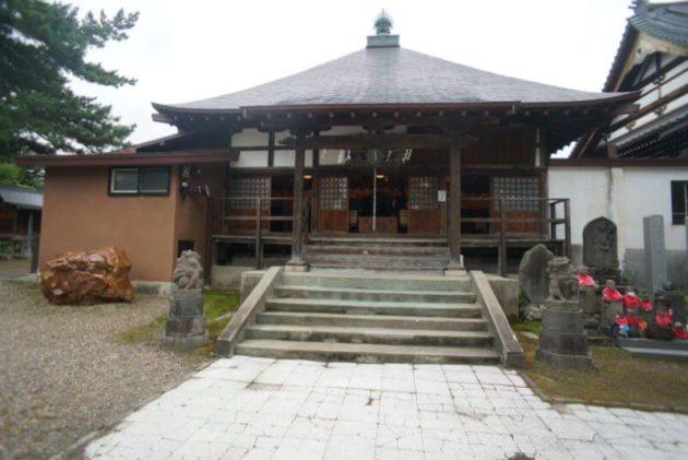 金剛山最勝院の護摩堂